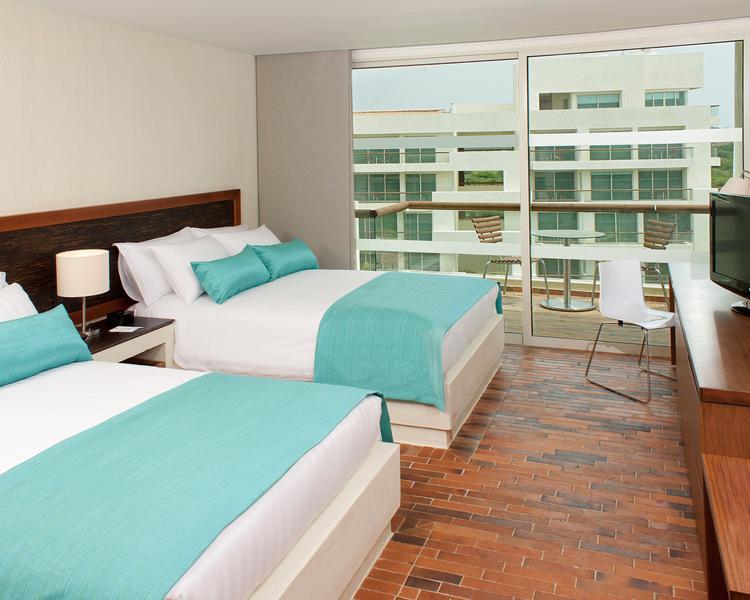 Habitación ESTELAR Playa Manzanillo Hotel Cartagena de Indias