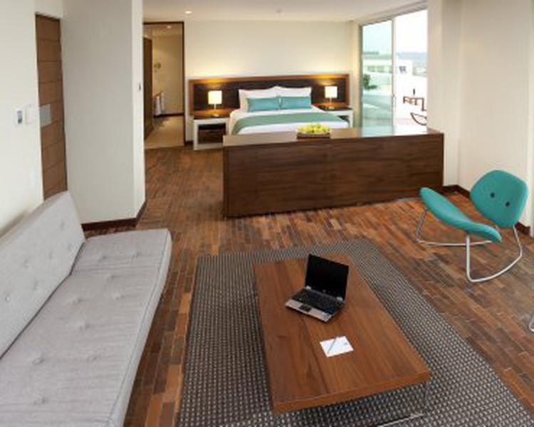 Sala de estar ESTELAR Playa Manzanillo Hotel Cartagena de Indias